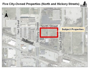 Two Redevelopment Proposals Received for North Street and Hickory Street Parcels