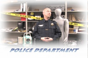 Winter Greeting Video from the Police Department