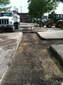 Intermodal Parking Lot Improvements Project