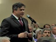 Mayor Don Gerard at EPA Public Hearing