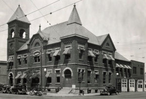 First Champaign City Building